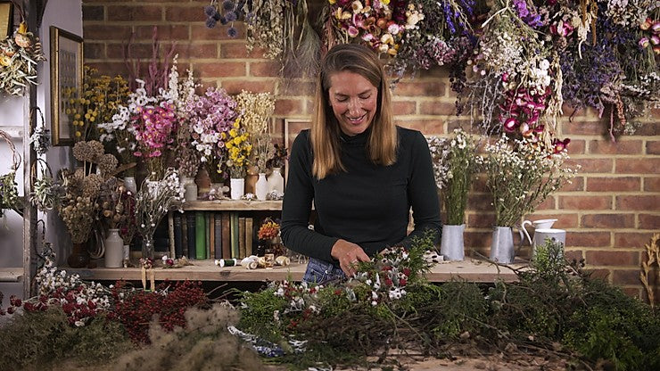 Christmas Wreath making with Botanical Tales