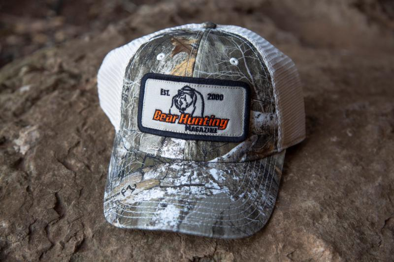 Bear Hunting Magazine Realtree Camo Trucker