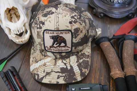 'Bear Hunter' First Light Cipher Camo Hat