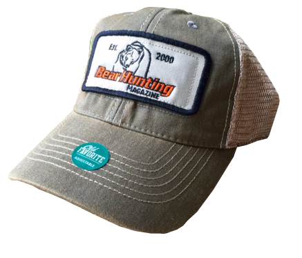 Bear Hunting Magazine Tan Trucker Hat