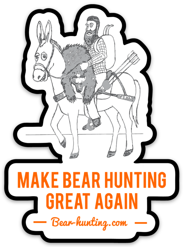 """Mule Bear Hunter"" Make Bear Hunting Great Again"