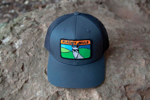 New! 'Flashy Mule' Trucker Hat (Available Now!)