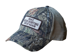 """Make Bear Hunting Great Again""Camo Trucker"