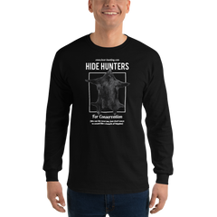 New!  'Hide Hunter' Men's Long Sleeve Shirt