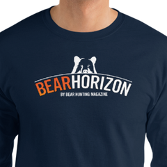 New! 'Bear Horizon' Men's Long Sleeve Shirt