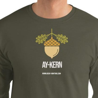 'Ay-Kern' Men's Long Sleeve Shirt