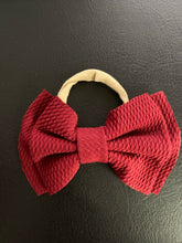 Load image into Gallery viewer, Paisley Baby Bow - Kansas Rose