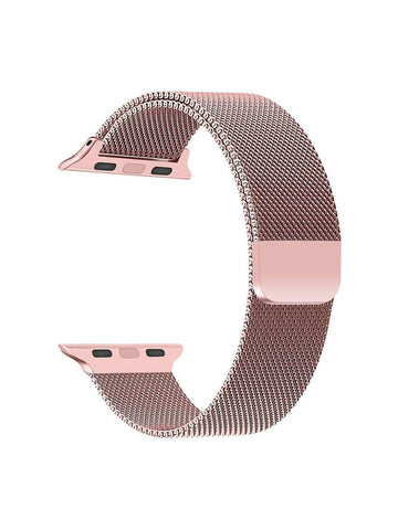 Stainless Steel Watch Strap for Apple Watch Series 5/4/3/2/1(Rose Gold)