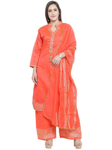 Designer Kurti with Palazzo & Dupatta Set For wedding & occasions By Treemoda