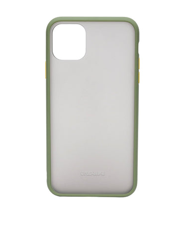 Green Semi Transparent Mobile Case For iPhone 11 / 11 Pro / 11 Pro Max