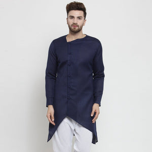 Blue kurta for men