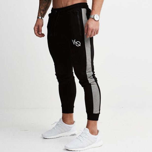2019 Autumn Winter New Mens cotton Joggers Sweatpants Gyms Fitness Trousers Male Sportswear Casual Fashion Brand Skinny Pants