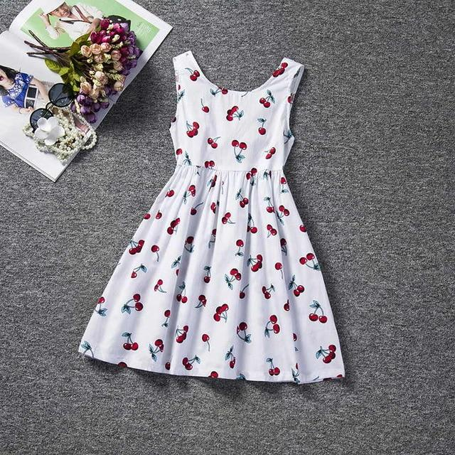 Baby Girl Summer Dress Children Clothing Princess Kids Dresses For Girls Clothes Toddler Girl Vest Dress Casual Wear Outfit
