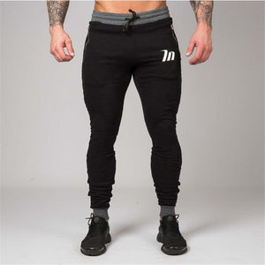 2018 New Men Cotton Sweatpants Male Gyms Fitness Workout Slim Pant Casual Fashion Brand Trousers Male Jogger Skinny Pencil Pants