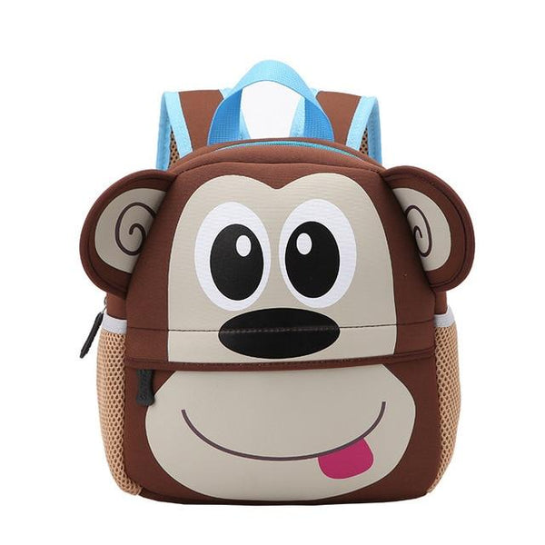 2019 New 3D Animal Children Backpacks Brand Design Girl Boys Backpack Toddler Kids School Bags Kindergarten Cartoon Bag