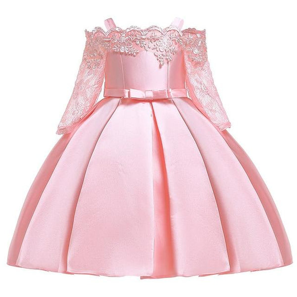 Princess Costume Kids Dresses For Girls Clothing Flower Party Girls Dress Elegant Wedding Dress For Girl Clothes 3 10 Years