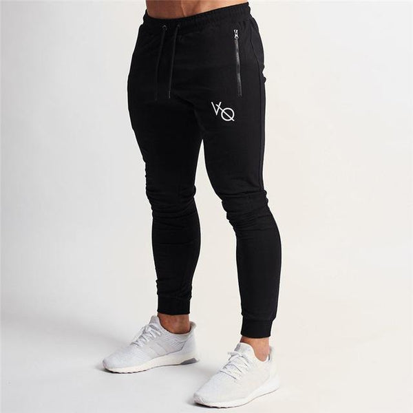 2019 Spring New Mens Joggers Sweatpants Running Sports Training Skinny Trousers Male Gym Fitness Crossfit Track Pants Sportswear