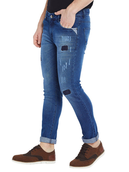 Slim Men's Blue Jeans