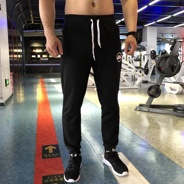 Autumn Winter New Men Cotton Sweatpants Man Gyms Fitness Trousers Male Sportswear Bottoms Casual Fashion Brand Joggers Pants