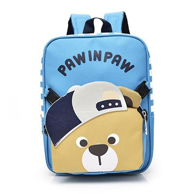 Kindergarten Children Backpack Removable Child School Bags Bear Two-piece Shoulder Bag Boys Girls Cute Small Bags