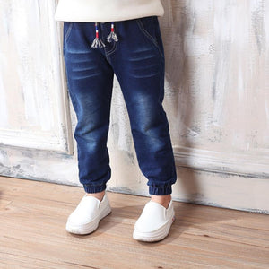 Baby Girls Boys Jeans 2019 Spring Autumn Long Legging Jeans Pants Children Cotton Trouser For Fashion Kids Clothes