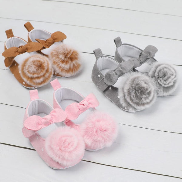 Baby Toddler Shoes Infant Toddler Stripe Flower Soft Sole Kid Girls Boy Baby Crib Shoes Prewalker 0-18 Months