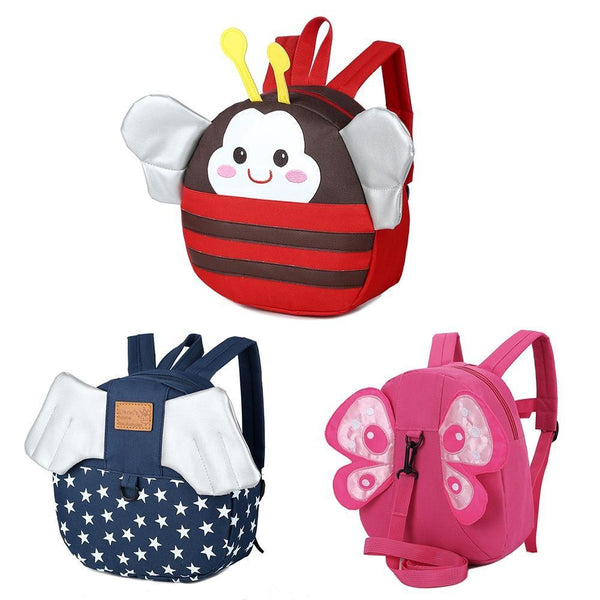 Cartoon Cute Children Backpack Anti-lost Bag With Traction Rope Backpacks Small Lovely For Girls Boys Children Kids Bags