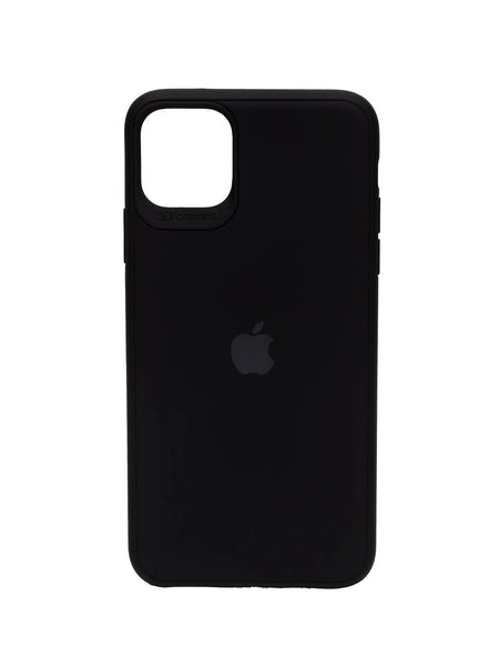iPhone 11 Silicone Black iPhone Case By Treemoda