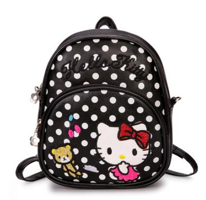 Children Bags Kindergarten Children School Bags Cartoon bow tie School Backpack Children Backpack