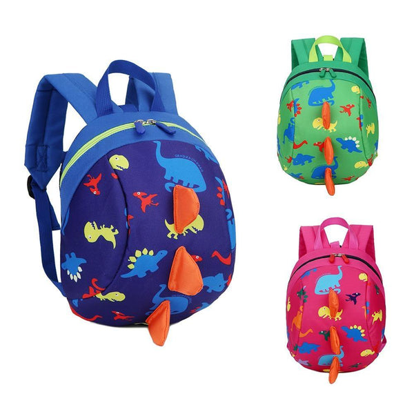 Children Cartoon Schoolbag Backpack With Anti-loss Traction Rope Small Cute Lovely Girls Boys Kids Backpacks School Bag Backpack