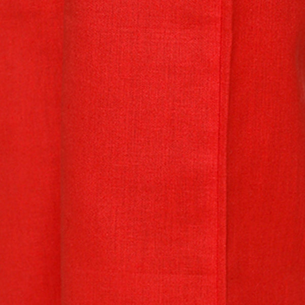 Cotton Blend Red Palazzo in Casual Wear For Girls