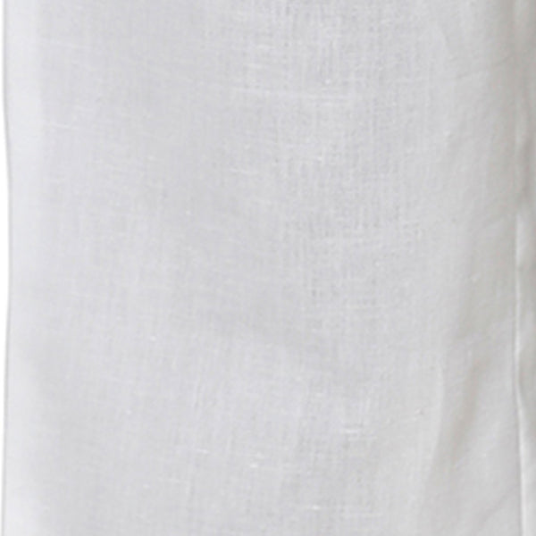 Cotton Blend White Palazzo in Casual Wear For Girls
