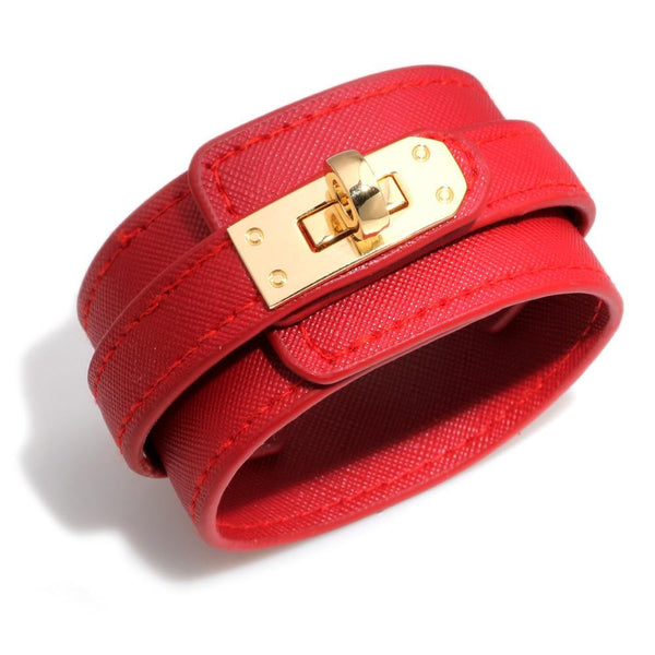 New Trendy Leather Retro Punk Casual Multi-layer Bracelet For Women