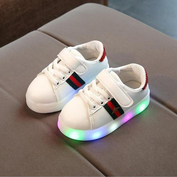 Luminous glowing sneakers led light up sneakers for boys