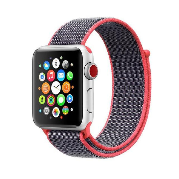 For Apple Watch Band Series 3/2/1 38MM 42MM Nylon Soft Breathable Nylon for iWatch Replacement Band Sport Loop series4 40mm 44mm