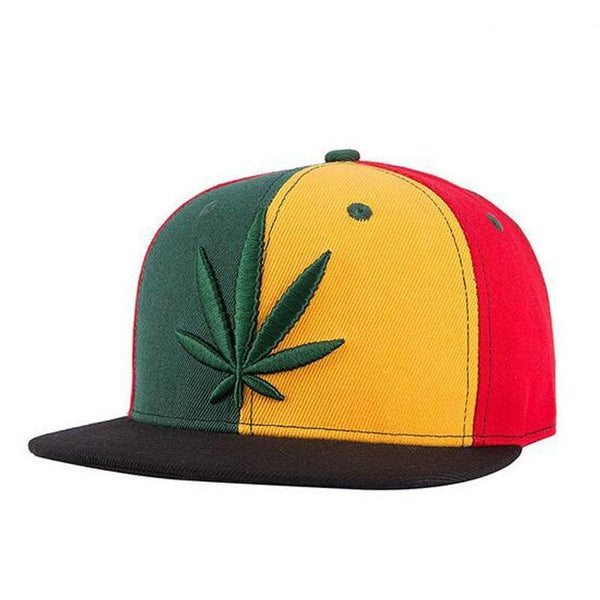 High Quality Adjustable WEED Flat Cap Men Women Outdoor Sports Street Skateboarding Hat Snapback Gorras Baseball caps