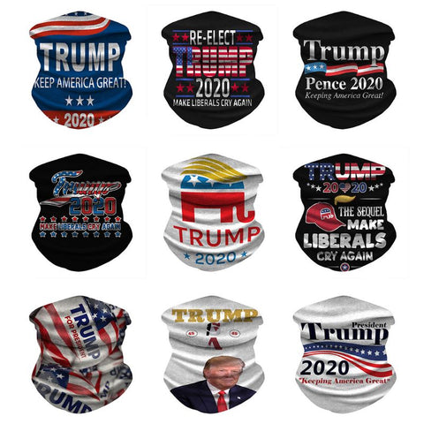 Keep America Great Neck Gaiter  Trump President Face Mask
