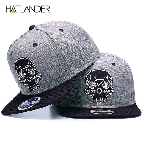 Original Baseball cap men snapback cap brand embroidery SKULL cool hip hop cap sports hats