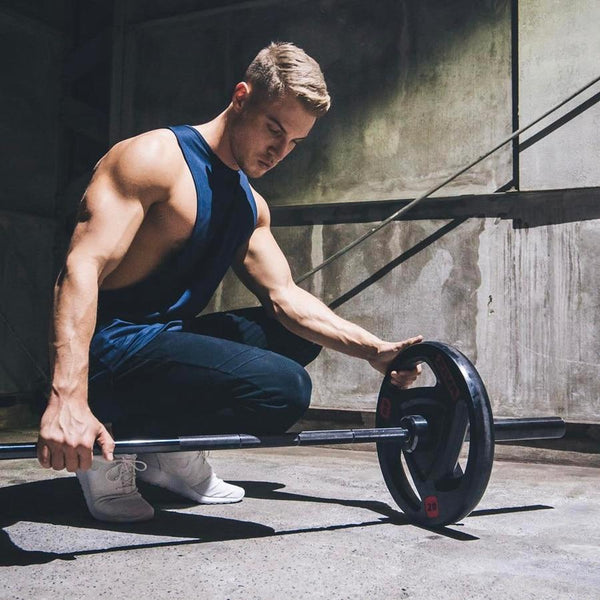 Mens Gyms Fitness Tank Tops 2019 New Bodybuilding Workout Sleeveless Shirt Male Summer Casual Stringer Singlet Brand Clothing