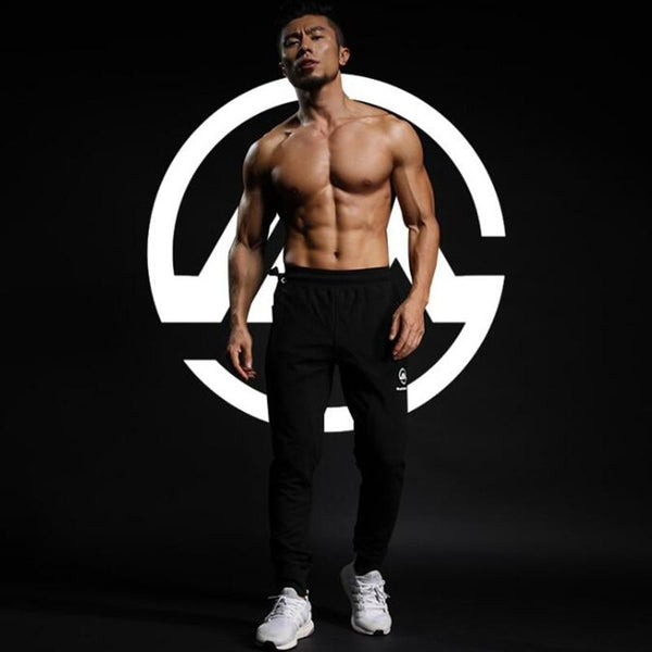 Men Cotton Sweatpants Man Gyms Fitness Workout Trousers Male Bodybuilding Sportswear Bottoms Casual Brand Joggers Crossfit Pants