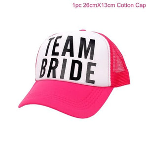 Pineapple Baseball Cap Women Bride Tribe Team Bride To Be Wedding Party Supplies Hawaiian Party Favors Gifts