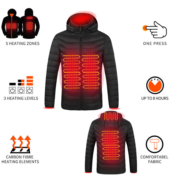 Battery Heated Electric Jacket