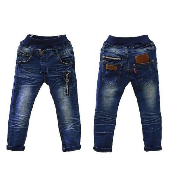 Fashion Baby Boys Jeans Pants Children Casual Jeans For Boy Clothes Kids Jean