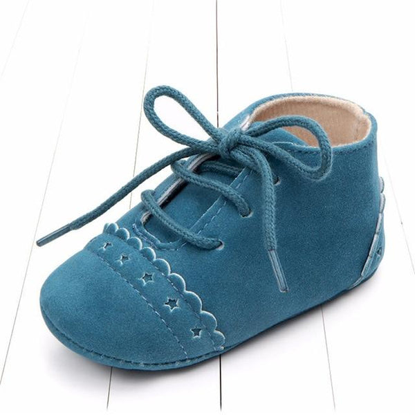 Newborn Baby First Walk Shoes Girl Boy Soft Nubuck Leather Prewalker Anti-slip Shoes Moccasins Footwear Shoes Toddler Shoes