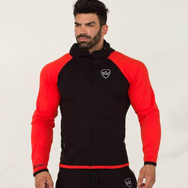 Men Autumn Hoodies Sweatshirts Man Gyms Fitness Joggers Workout Outerwear Jacket Sportswear Male Casual Fashion Brand Coats Tops