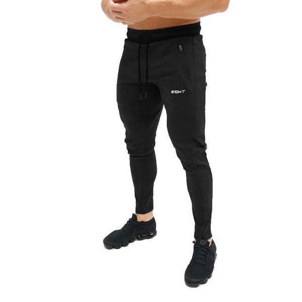 New Men Cotton Jogger Sweatpants Man Gyms Fitness Bodybuilding Workout Brand Trousers Male Casual Fashion Skinny Pants Sportswear