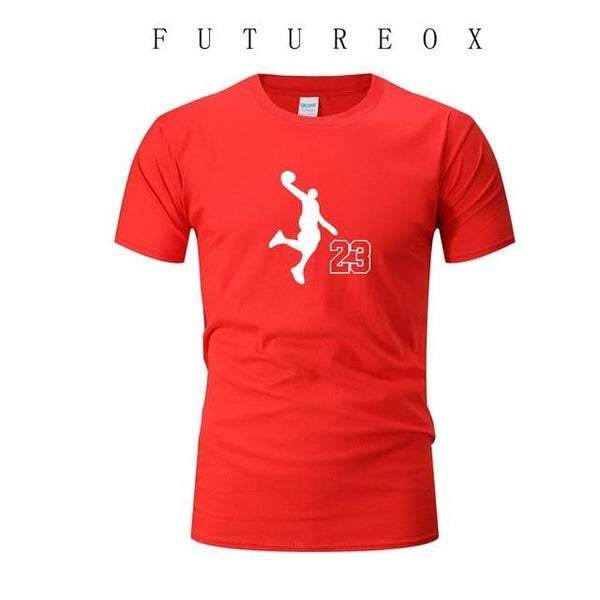 Men's Sweatshirt Round Neck Short Sleeve T-Shirt Top Gym Fitness Training Sweatshirt Basketball Soccer Sportswear