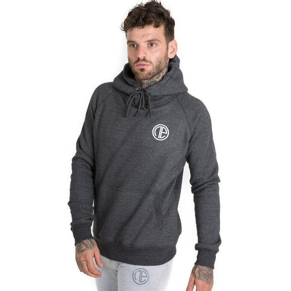 Men winter Warm cotton Hoodies Sweatshirt gyms Fitness Solid Sportswear Hooded pullover male Casual fashion Brand tops clothing
