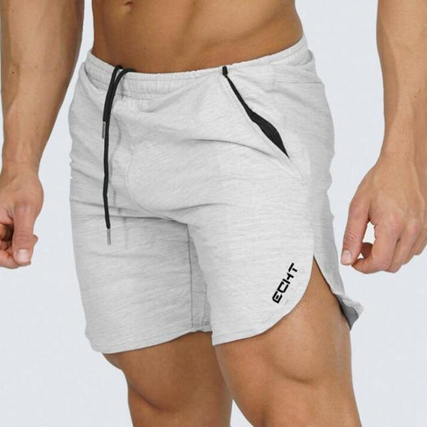 Mens Fitness Brand Shorts Calf-Length Summer Gyms Bodybuilding Fashion Casual Male Joggers Workout Beach Short Pants Sweatpants
