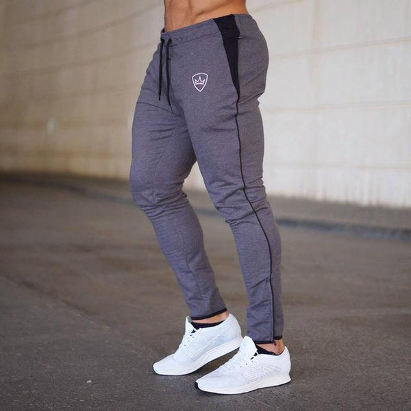 Mens Joggers Sweatpants Men Gyms Fitness Bodybuilding Workout Brand Trousers Male Casual Fashion Skinny Pants Autumn Sportswear